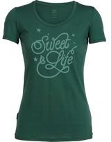 Icebreaker Women's Tech Lite Short Sleeve Scoop Sweet Life Tee