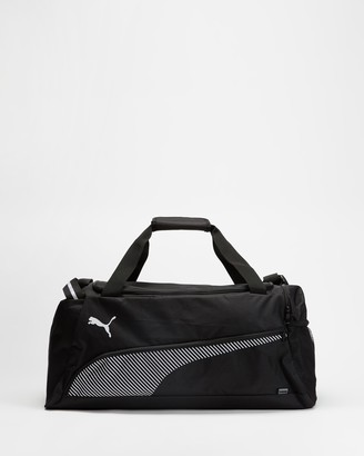 Puma Black Duffle Bags - Fundamentals Sports Bag - Medium - Size One Size, 27 at The Iconic