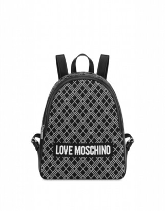 Love Moschino Backpack Sporty Knit