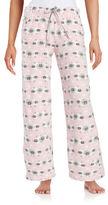 Nuit Rouge Patterned Pajama Pants