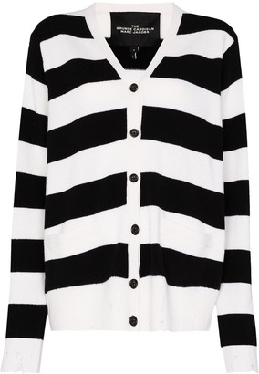 Marc Jacobs Grunge striped cardigan