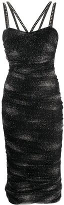 Philipp Plein Greta glitter bodycon dress