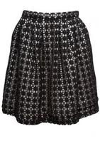 Crochet Mini Skirt