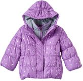 ZeroXposur Toddler Girl Heavyweight Fleece-Lined Foil Crown Jacket