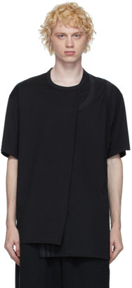 Y-3 Black CH2 Layered T-Shirt