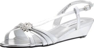 Touch Ups Women's Geri Manmade Wedge Sandal