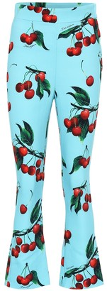 Dolce & Gabbana Exclusive to Mytheresa Cherry printed high-rise pants