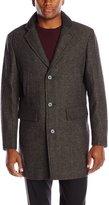 London Fog Men's Ledyard Wool Blend Top Coat