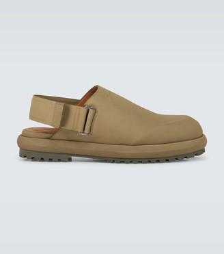 Jacquemus Les Mules nubuck slippers
