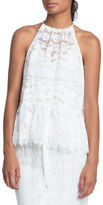 Tracy Reese Lace Halter Top