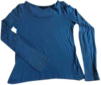 Sofie D'hoore Blue Cotton Top for Women
