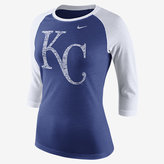 Nike Tri Logo 3/4 Raglan (MLB Royals) Women's Top