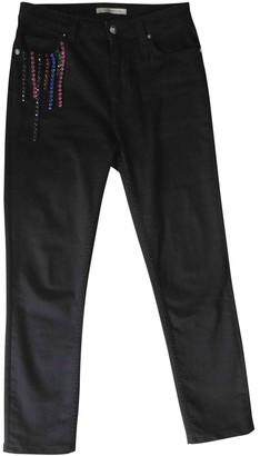 Christopher Kane Black Cotton - elasthane Jeans for Women