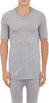Hanro Men's Wool-Silk T-Shirt-GREY