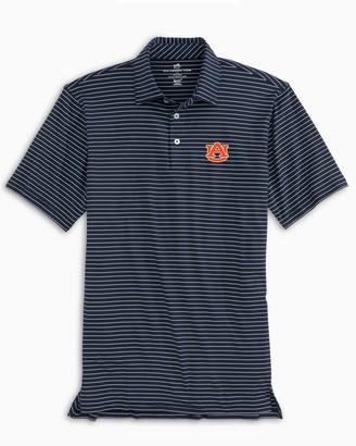 Southern Tide Auburn Tigers brrr Striped Polo Shirt