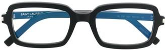 Saint Laurent Eyewear SL278 rectangular frame glasses