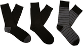 Oxford Christopher 3pk Socks Stripes