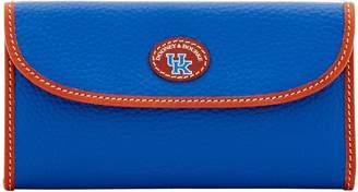 Dooney & Bourke NCAA Kentucky Continental Clutch