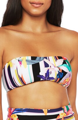 Trina Turk Treasure Cove Bandeau Bikini Top