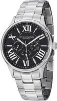 Stuhrling Original Sthrling Original Mens Black Dial Stainless Steel Watch