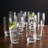Crate & Barrel Otis Highball Glasses, Set of 12