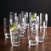 Crate & Barrel Set of 12 Otis Highball Glasses