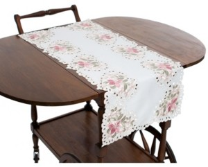 Manor Luxe Embroidered Cutwork Table Runner