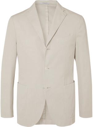 Boglioli Slim-Fit Unstructured Stretch-Cotton Drill Suit Jacket