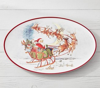 Pottery Barn Kids Classic Holiday Platter