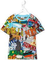 Dolce & Gabbana 'Summer Love Italy' T-shirt - kids - Cotton - 3 yrs