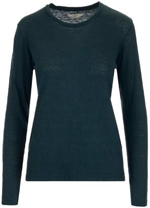 Etoile Isabel Marant Crewneck Long-Sleeve Top