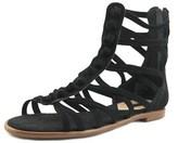 Kensie Macklin Women Open Toe Synthetic Black Gladiator Sandal.