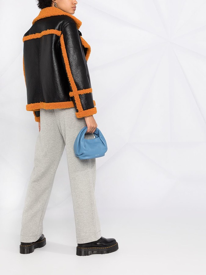 Thumbnail for your product : Ganni Embroidered Logo Track Pants