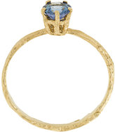 Alex Monroe pale blue sapphire Eyebright ring