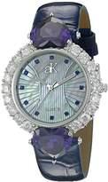 Adee Kaye Women's AK2424-BU SWEET HEART COLLECTION Analog Display Analog Quartz Blue Watch