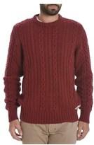 Franklin & Marshall Men's Red Viscose Sweater.