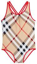 Burberry Girls' Beadnell One-Piece Swimsuit - Little Kid, Big Kid