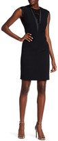 Anne Klein Lace Inset Sheath Dress