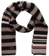 Sonia Rykiel Wool Stripe Scarf