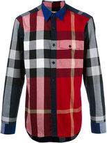 Burberry checked shirt - men - Cotton - S