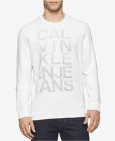 Calvin Klein Jeans Men's Mesh Graphic-Print Logo