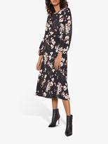 Mint Velvet Gabriella Floral Midi Dress, Multi