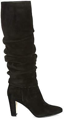 Manolo Blahnik Women's Shushanhi Slouch Suede Boots