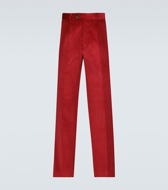 Éditions M.R Nathan cropped corduroy pants