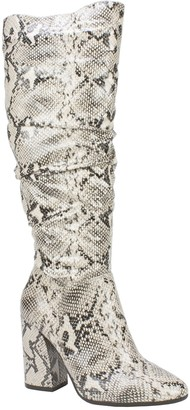 White Mountain Seven Dials Block-Heel Tall Boots - Adelyn