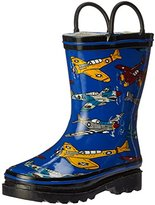 Western Chief Fighter Planes Rain Boot (Toddler/Little Kid/Big Kid)