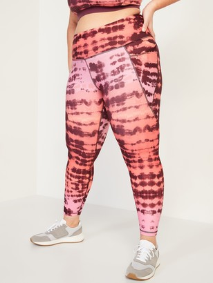Old Navy High-Waisted Elevate Powersoft 7/8-Length Plus-Size Leggings