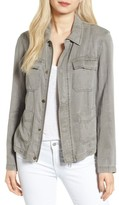 Pam & Gela Women's Side Tie Cargo Jacket