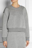 Neil Barrett Embossed bonded jersey sweatshirt