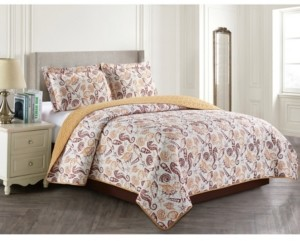 Home Styles Shell 3 Piece Quilt Set